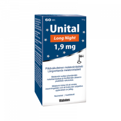 Unital Long Night 1,9 mg 60 tabl
