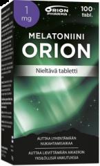 MELATONIINI ORION 1 MG NIELTÄVÄ 100 TABL