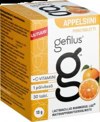 Gefilus Appelsiinipurutabletti 30 kpl