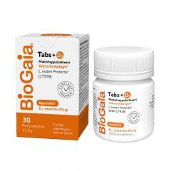 BioGaia Tabs+D3 Appelsiini 30 tabl