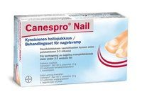 CANESPRO NAIL KYNSISIENEN HOITOPAKKAUS SIS. 40% UREAVOIDE 10 G 1 kpl