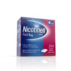 NICOTINELL FRUIT 2 mg lääkepurukumi 204 fol