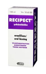 RECIPECT 0,958/20 mg/ml oraaliliuos 150 ml